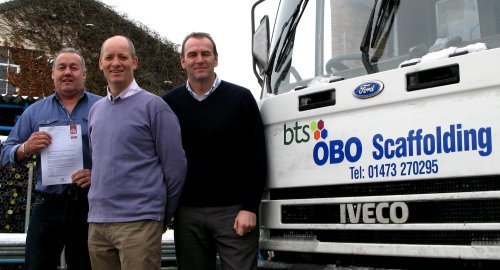OBO Scaffolding, New Contract