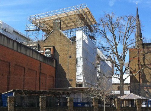 Harsco completes successful London scaffolding project