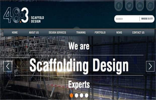 48.3 Scaffold Design New Website