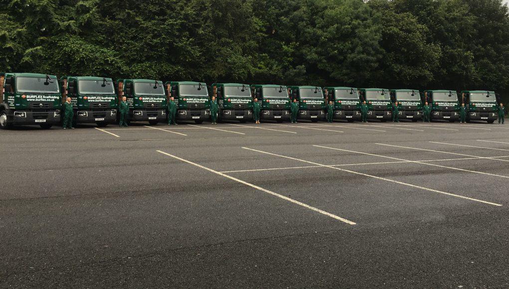 Burflex Scaffolding New Trucks