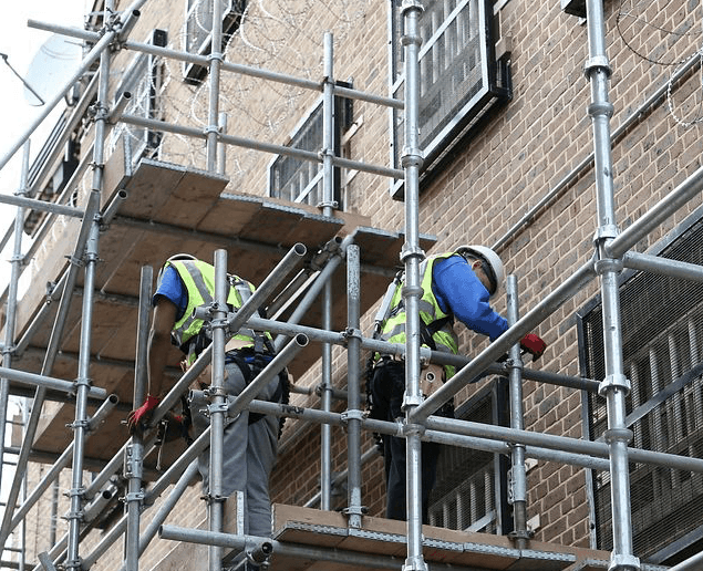 Scaffolding Training at HMP Brixton Prison