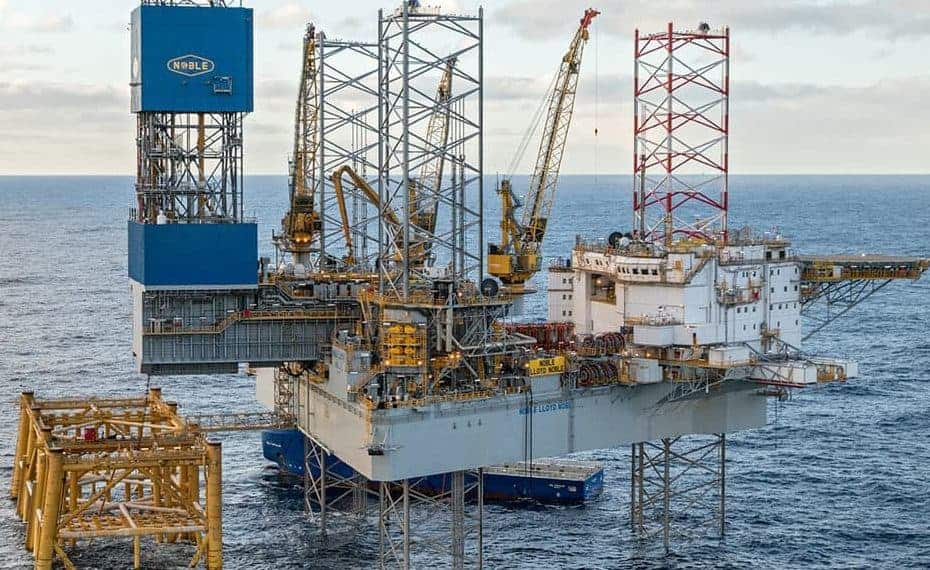 Search underway for man missing from North Sea Rig