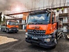 Mercer Scaffolding New Trucks