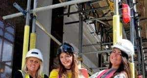 Female Scaffolders