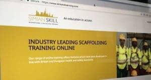 Simian International E-learning Website