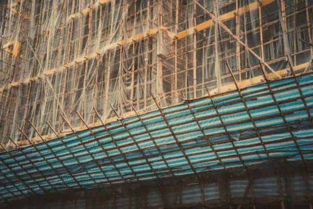 Bamboo Scaffolding to be 'Upcycled' In China