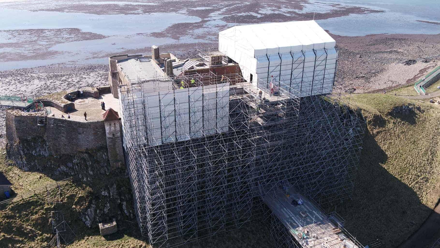 Lindisfarne Scaffolding Layher