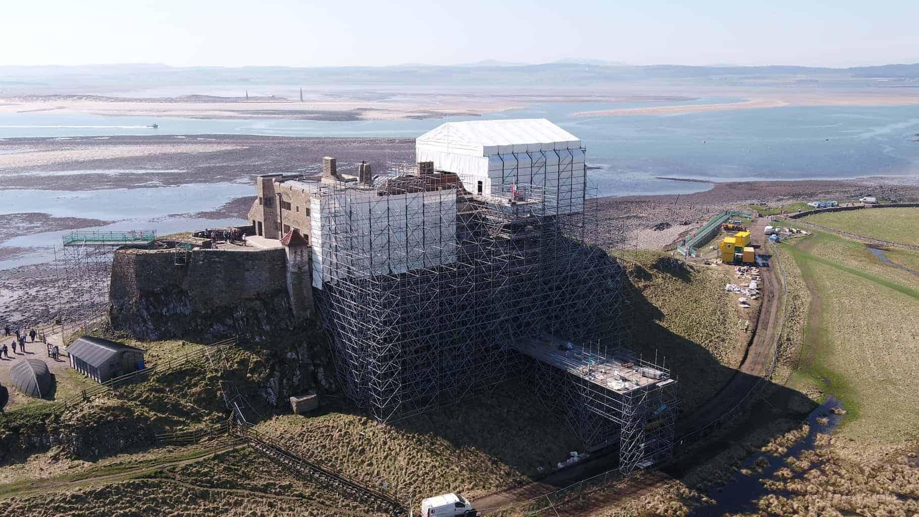 Lindisfarne Scaffolding