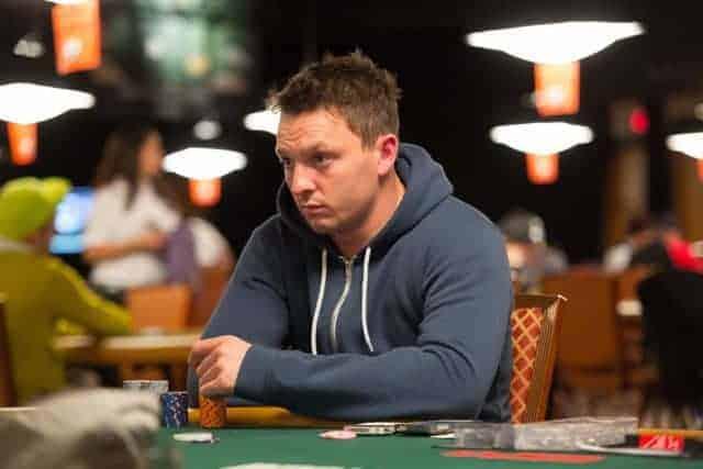 ex-scaffolder Poker player Sam Trickett