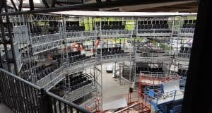 Layher Scaffolding Event Systems Rose Theatre