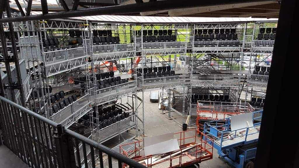 Layher Scaffolding and Event Systems Take Centre Stage