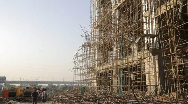Scaffolding Collapse Noida