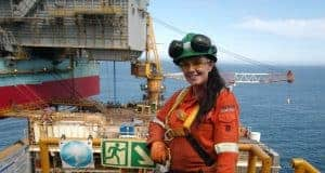 Female Offshore Scaffolder Vicky Welch