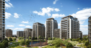 Former Gas Works in Fulham where brogan group has been awarded the scaffold package
