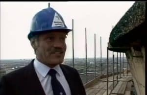 man with hardhat at west ham power station
