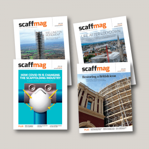 Scaffmag yearly subscription