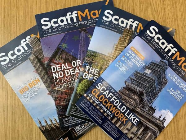 ScaffMag Magazine spread