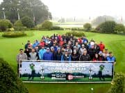 Image shows golfers attending SCP and Forgeco Golfer Of The Year Championship