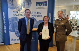 Scaffolding Trade Body NASC Signs Armed Forces Covenant