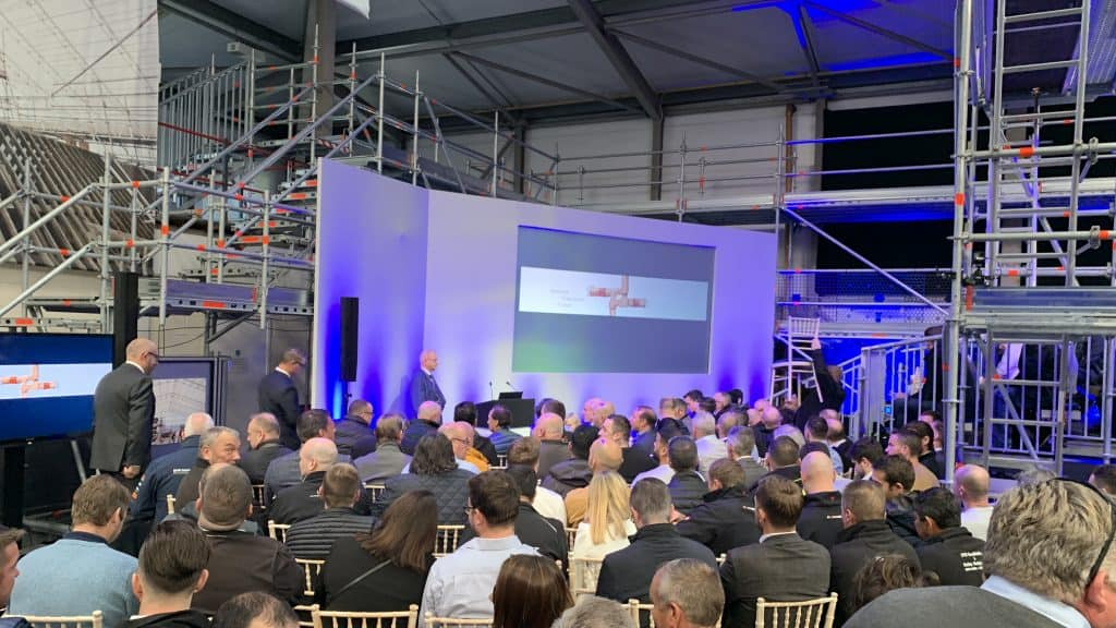 Image shows the Layher Partnership Open Day 2019