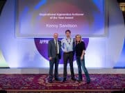 Scaffolder Kenny Sandison CITB Inspirational Apprentice of the year 2019