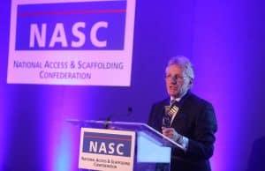 Des Moore NASC President hand over Presidency
