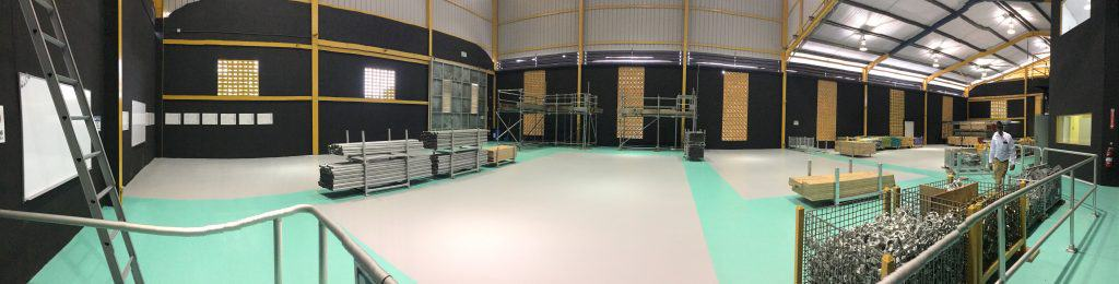 Inside the new CISRS (OSTS) training centre in the Caribbean
