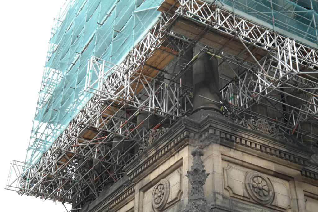 Beam Work at Leeds Town Hall