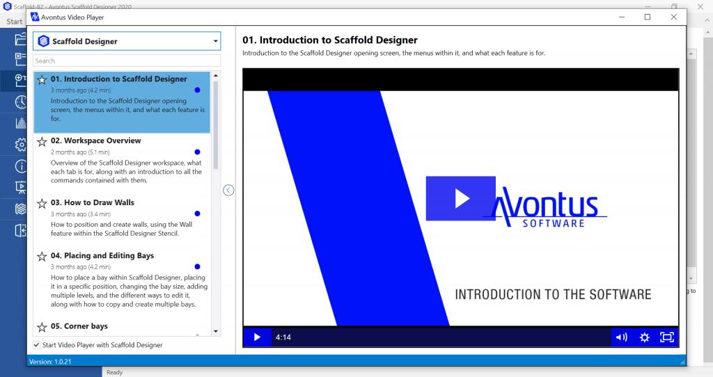 Avontus Scaffold Designer 2020