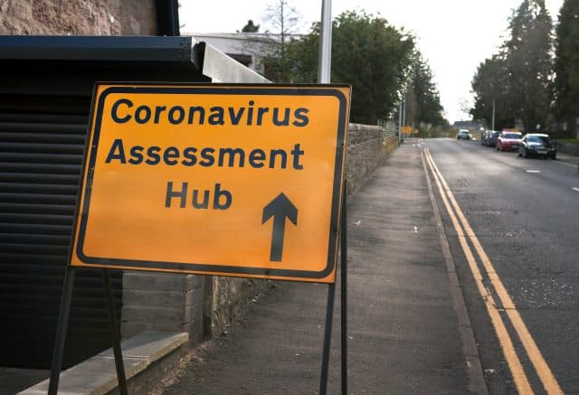 Scaffolders and other construction workers are now eligible for Coronavirus test