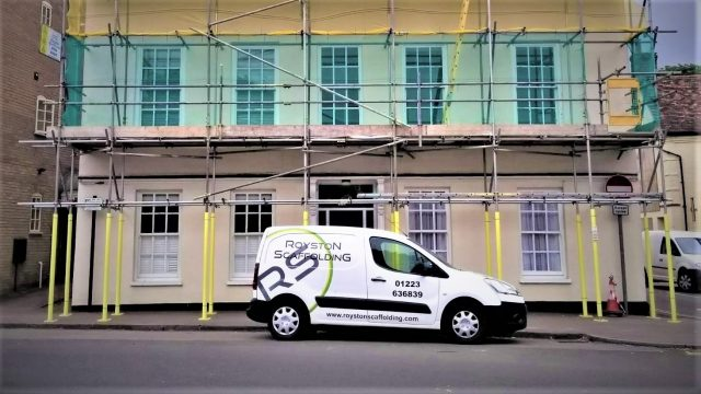 Royston Scaffolding provided essential work for the NHS