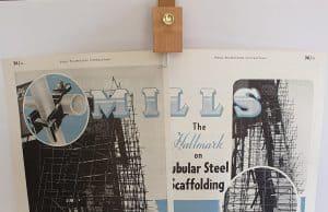 scaffolding memorabilia