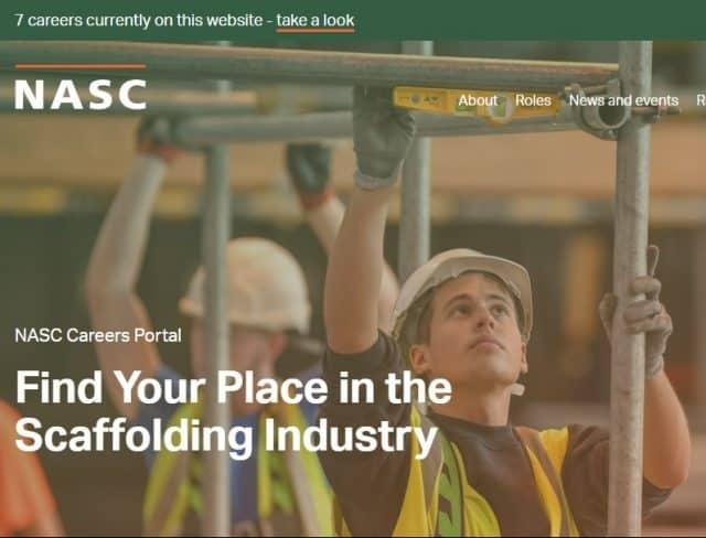 NASC launch CAREERS website