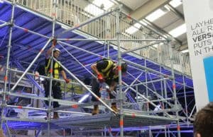 Layher scaffolding apprenticeship scheme launched by SIMIAN