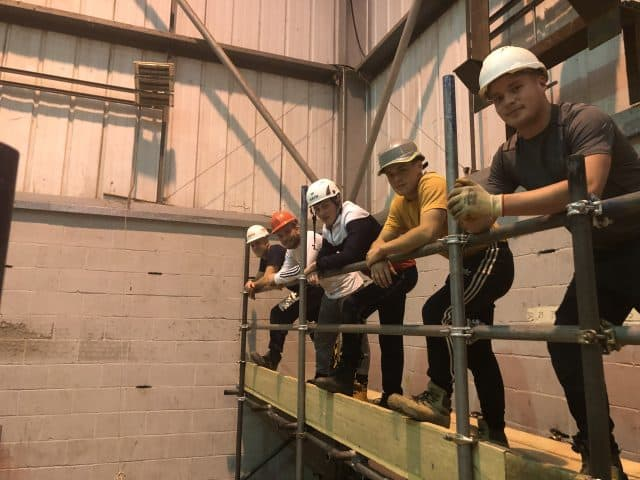Five scaffolding apprentices have become the first cohort in the UK to successfully complete their Scaffolding Trailblazer End Point Assessment