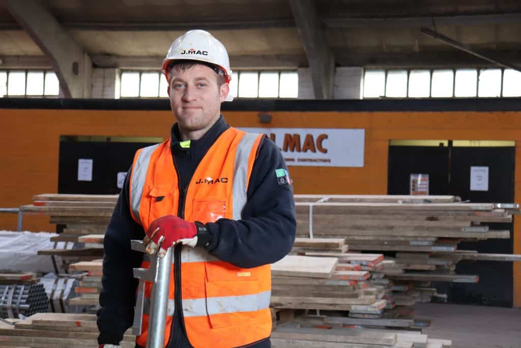 Trainee Scaffolder Dean Bishop