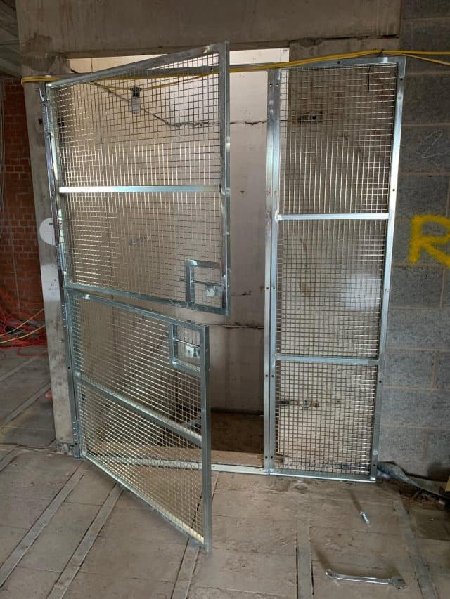 G-DECK, the construction safety decking specialist, has added a robust Lift Shaft Gate to its range of site safety products