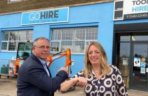 Caspian confirm sale of Grimsby tool hire depot