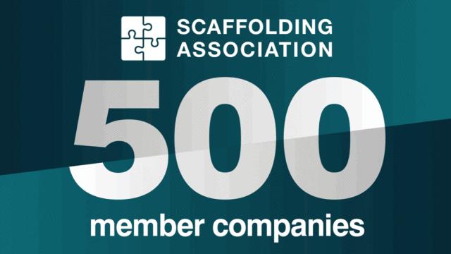 Scaffolding Association celebrates booming membership levels