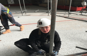 Safety & Access were delighted to host Anne Marie at their Humberside Training Facility for her Construction Industry Scaffolders Record Scheme or CISRS Part Two Scaffolders Course and Level Two NVQ recently.