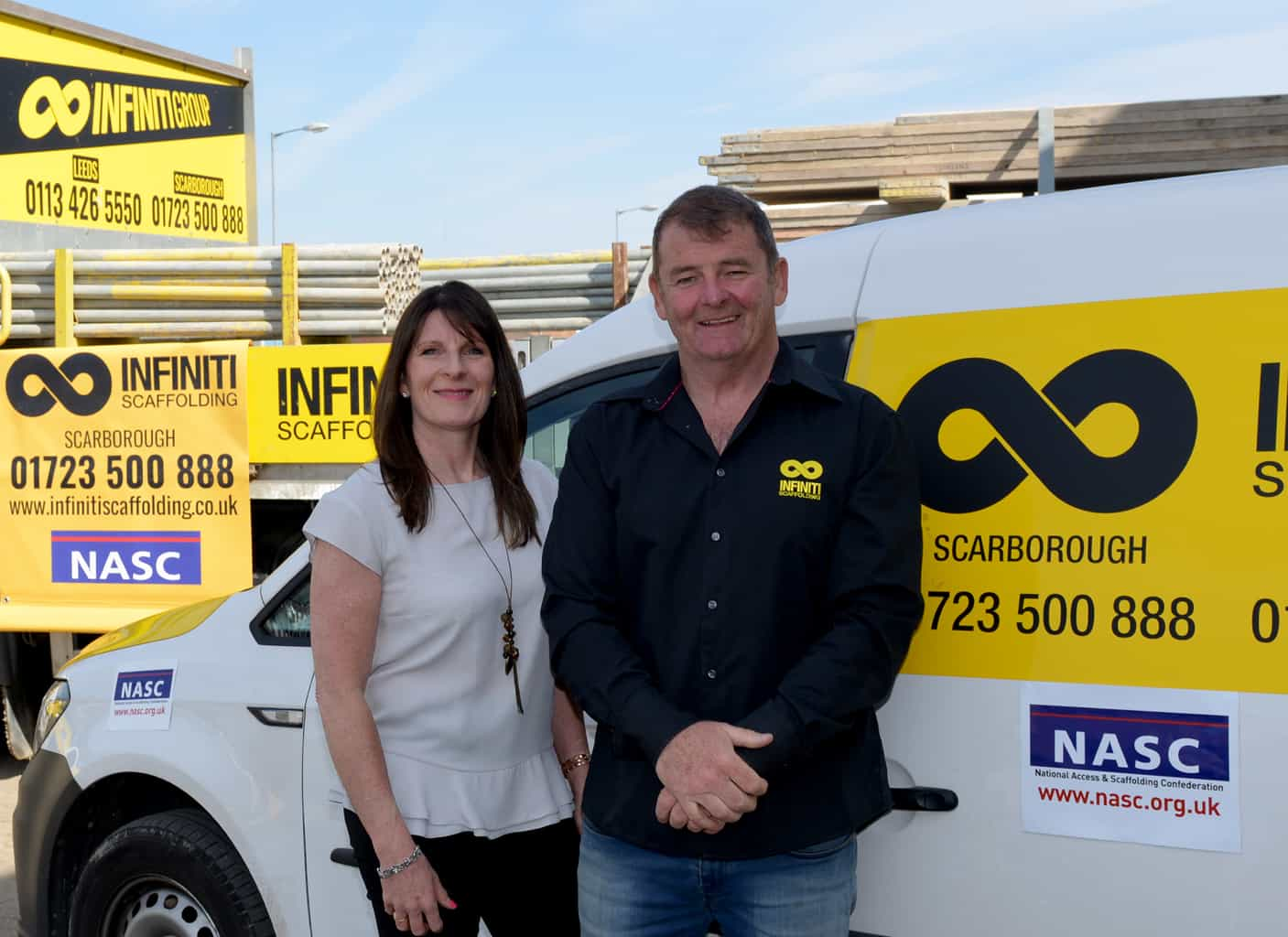 North Yorkshire scaffolding firm awarded top accreditation