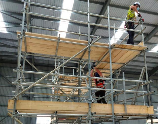 New scaffold training centre celebrates successful first course