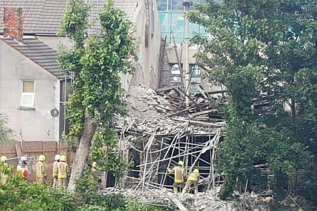 Scaffolder Jeff Plevey was crushed to death in the collapse.